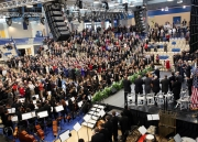 Inauguration ceremony at the HCC Arena