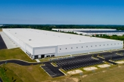 Aerial Photography Distribution Warehouse