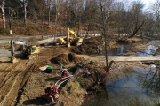 Bynum Run Sewer Extension project Aerial Photography