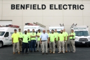Benefield Electric, Aberdeen, Maryland.  MidAtlantic Photographic LLC is a woman owned, Maryland based commercial photography studio specializing in still, video and UAV/Drone photography.