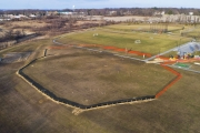 Miracle League Ballfield, Aerial Photography February 2020  by Commercial photographers Robin Sommer and Bill Rettberg of MidAtlantic Photographic LLC