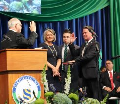 Inaugural Ceremony Harford County Executive, Barry Glassman and Harford County Council, photographed by Robin Sommer and Bill Rettberg of MidAtlantic Photographic LLC on December 3, 2018 at the Harford Community College APGFCU Arena