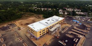 Aerial Drone photography Medstar Hospital Bel Air Maryland by MidAtlantic Photographic LLC