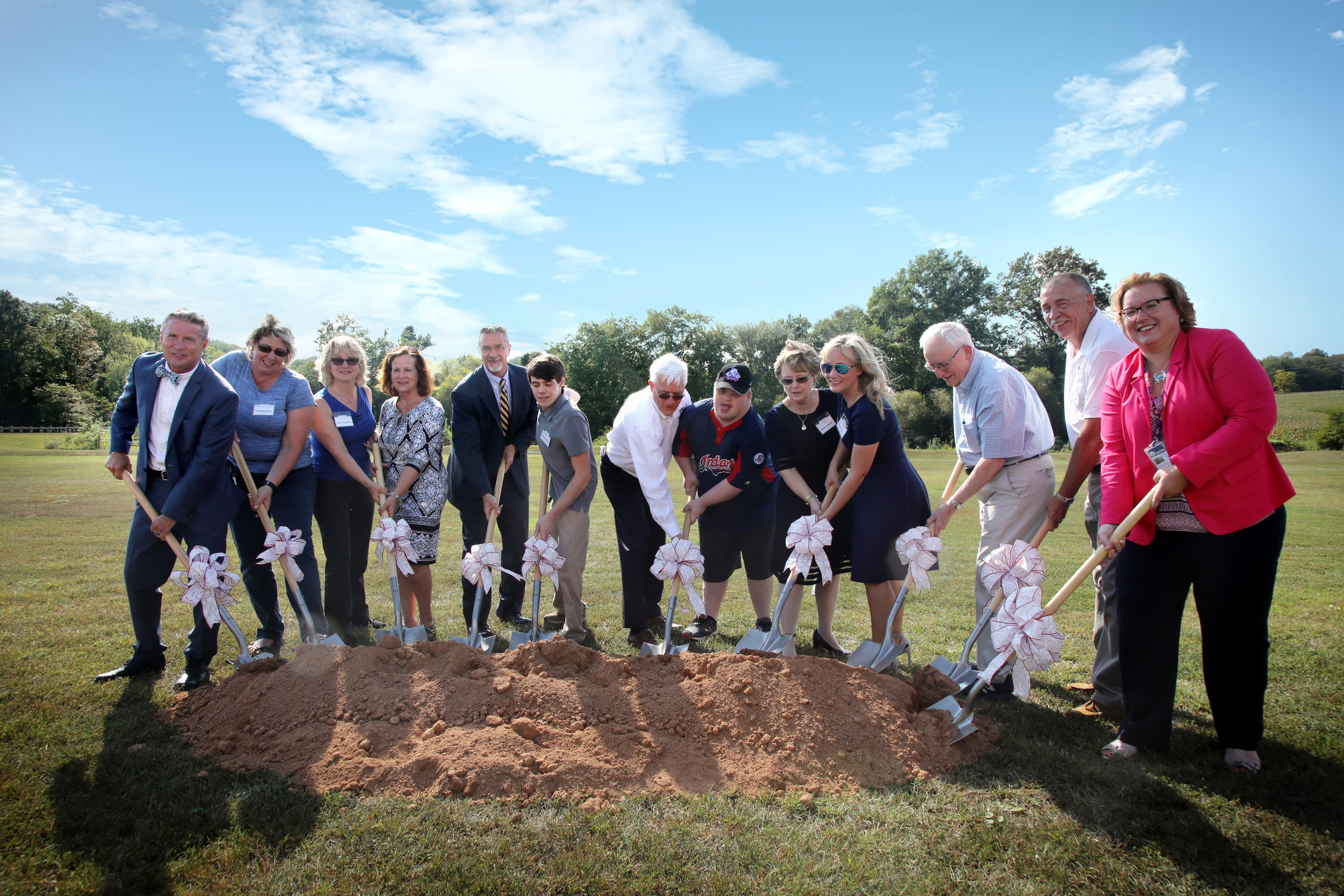 Miracle League Ground Breaking Maryland