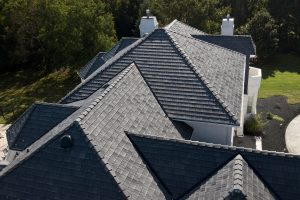 Still Photography and Aerial Photography of DaVinci Roof by Maryland based Commercial photography by Robin Sommer and Bill Rettberg of MidAtlantic Photographic LLC